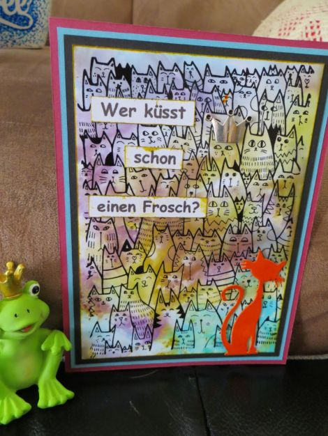 Froschkarte
